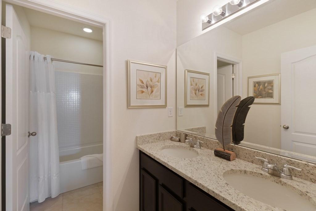 18 Bathroom ft bath with overhead shower