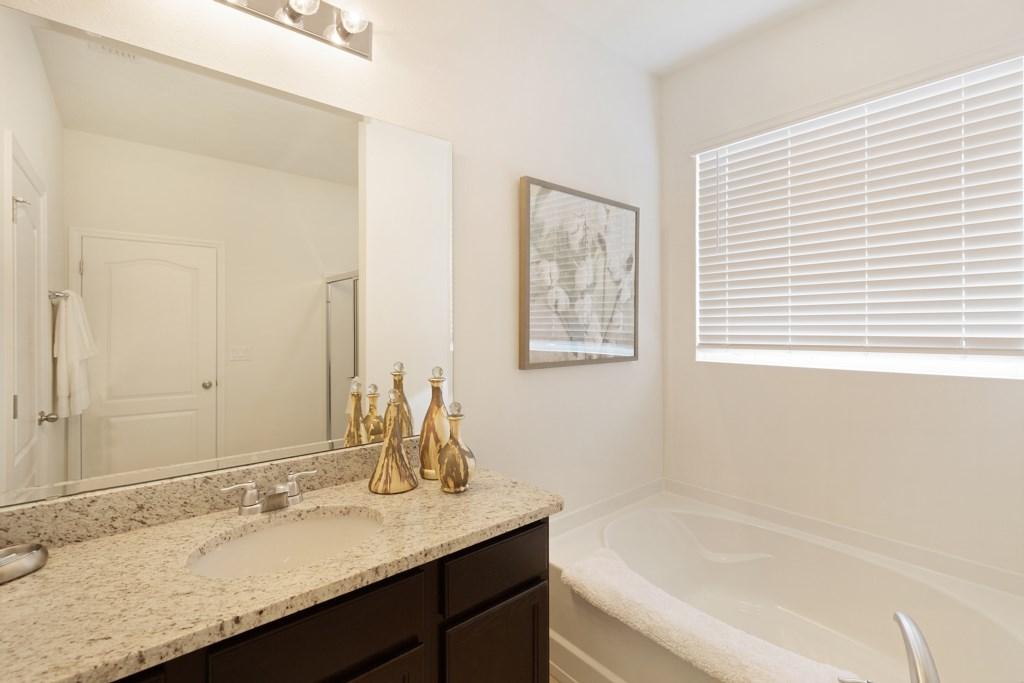 21 Bathroom with bath and vanity basin