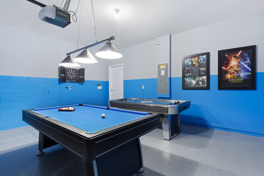 29 Pool table in games room