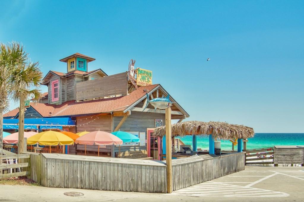 World Famous Pompano Joes on the Beach