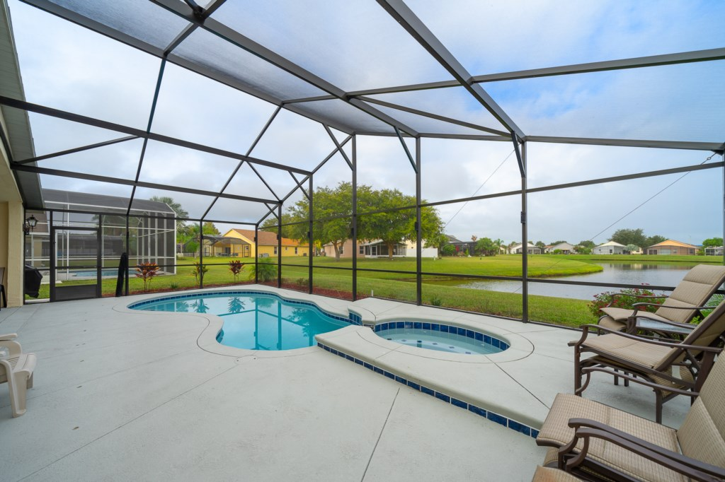 Pool/Spa heating is available for extra cost