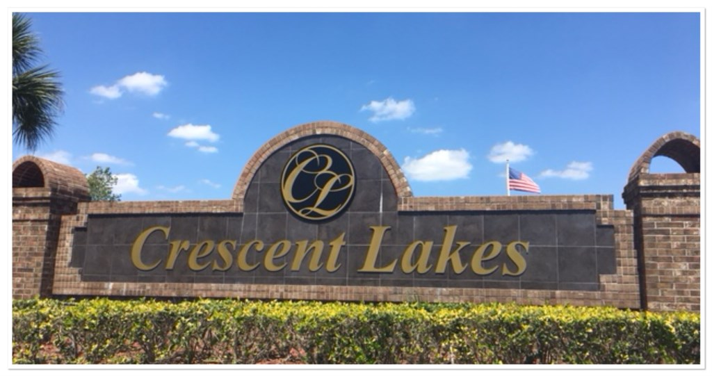 Crescent Lakes Community 12.1 Miles from Entrance to Disney