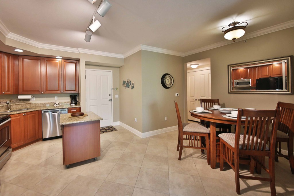 Open concept Kitchen and Dining allowing easy flow for entertaining