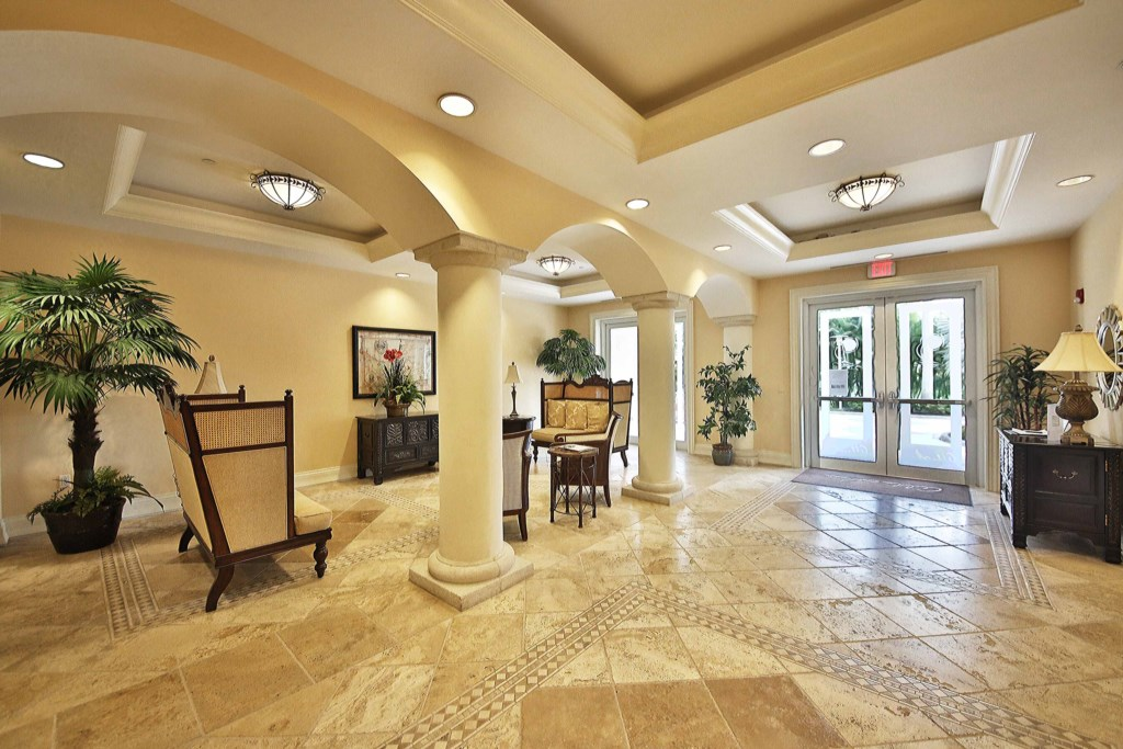 Luxurious and welcoming Alta Mar Lobby
