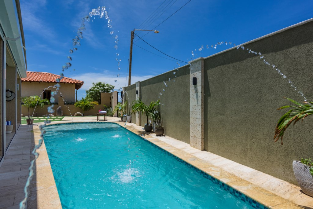 Your private pool to cool off!