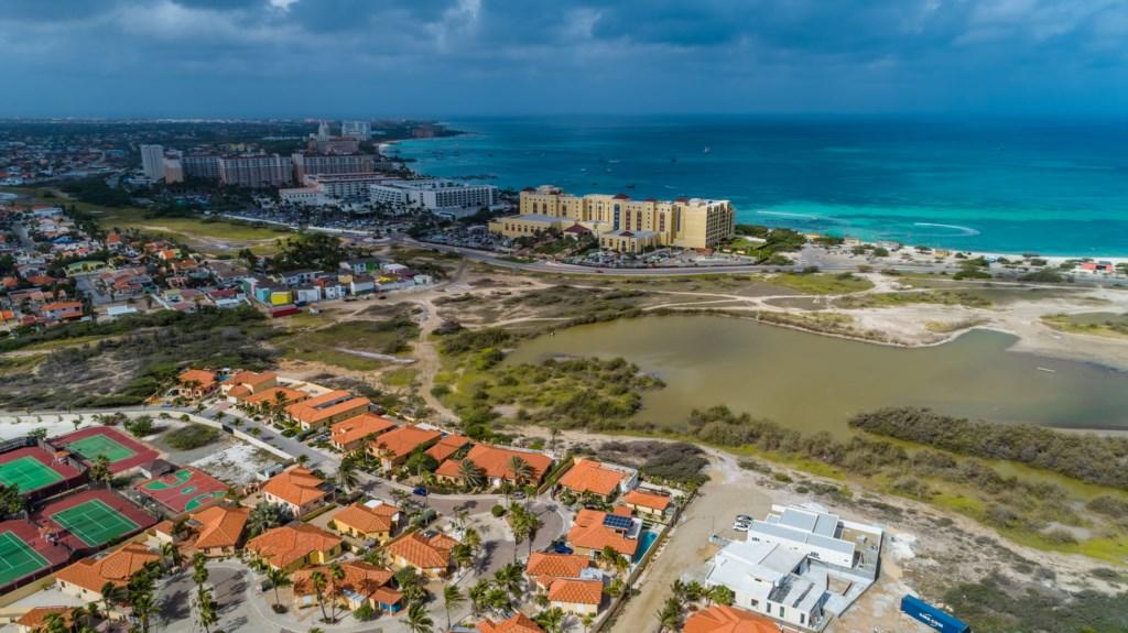 Located behind The Ritz Carlton, Aruba