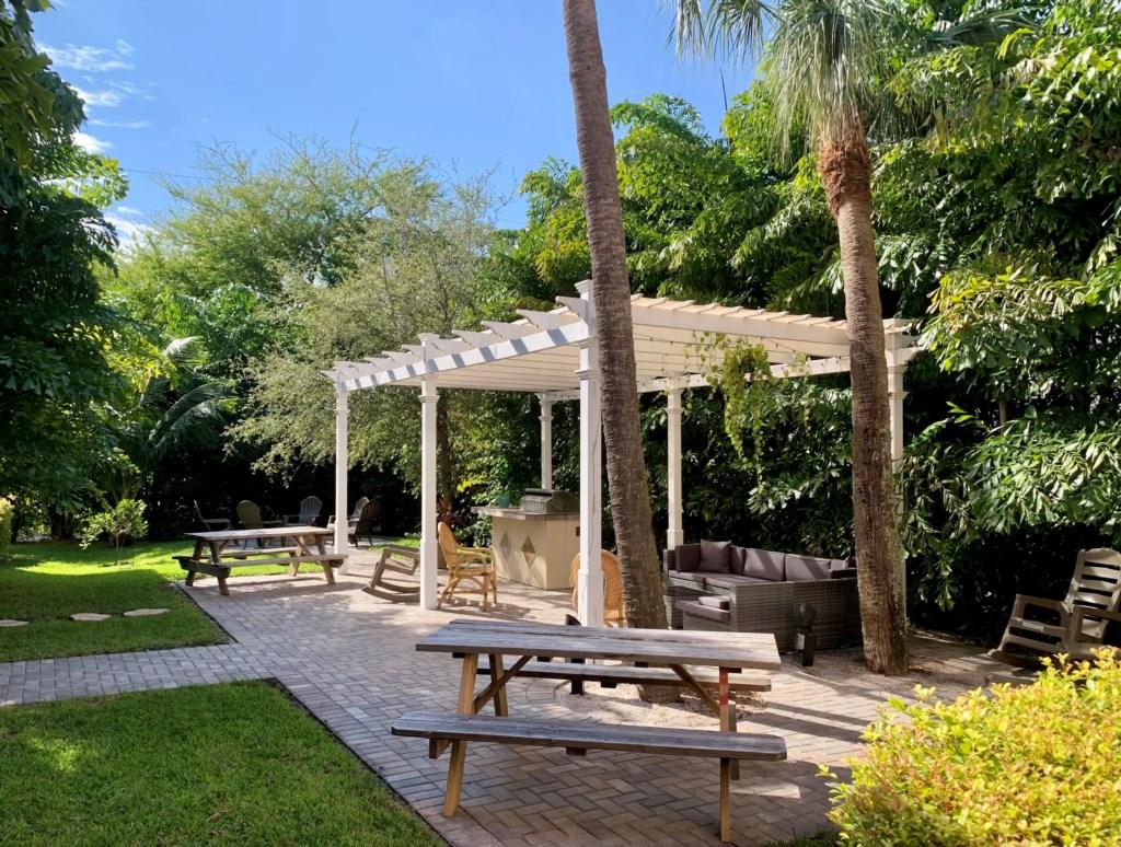 Backyard Garden Area 2