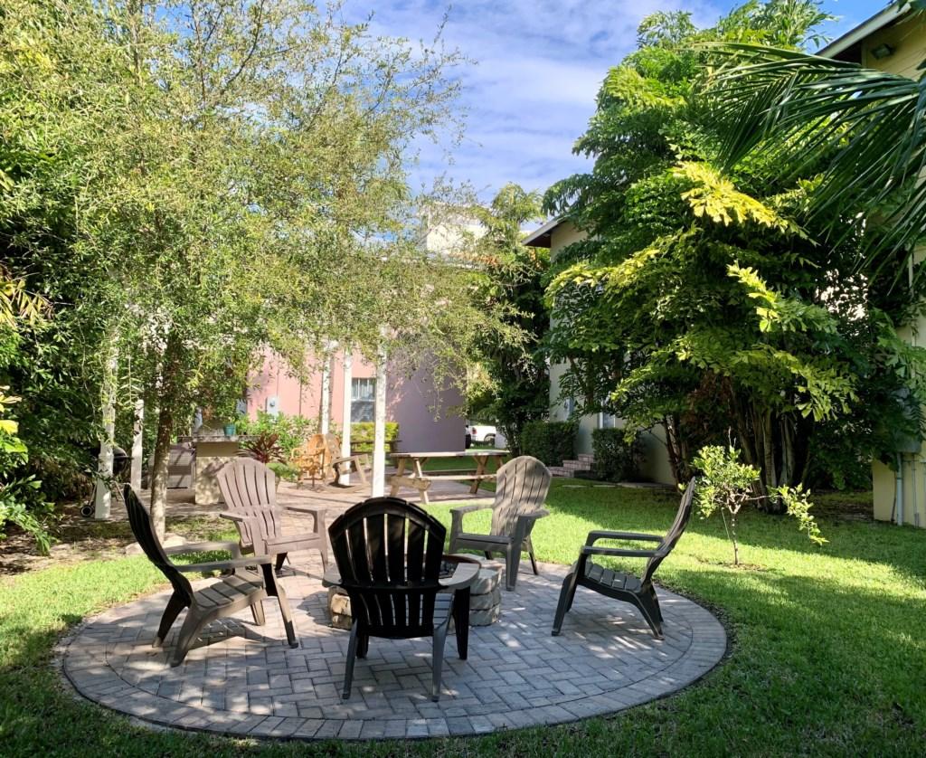 Backyard Garden Area 1