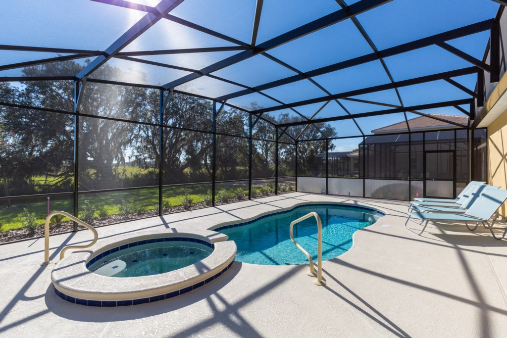 33 Extended Pool Deck with Conservation View