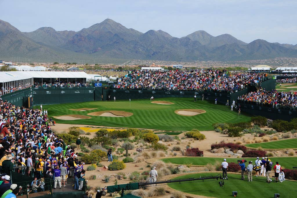 Phoenix Open TPC Golf Course - minutes away!