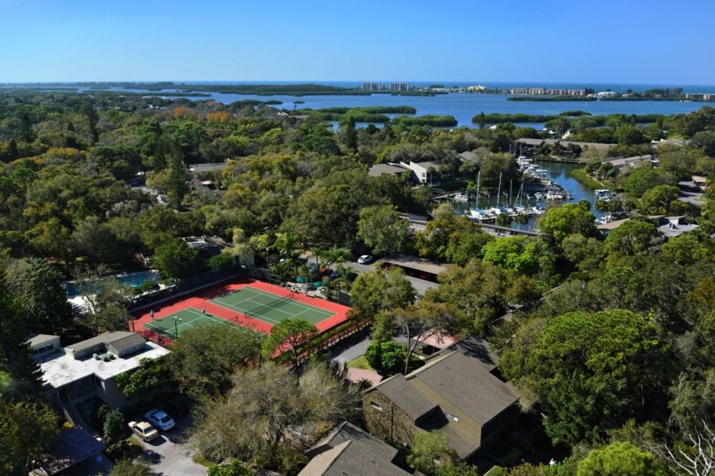 Ariel View -  Tennis Courts - Marina - Pelican Cove Sarasota Florida.jpg