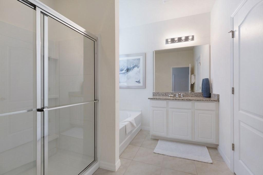 22 Bathroom with Bath and Shower