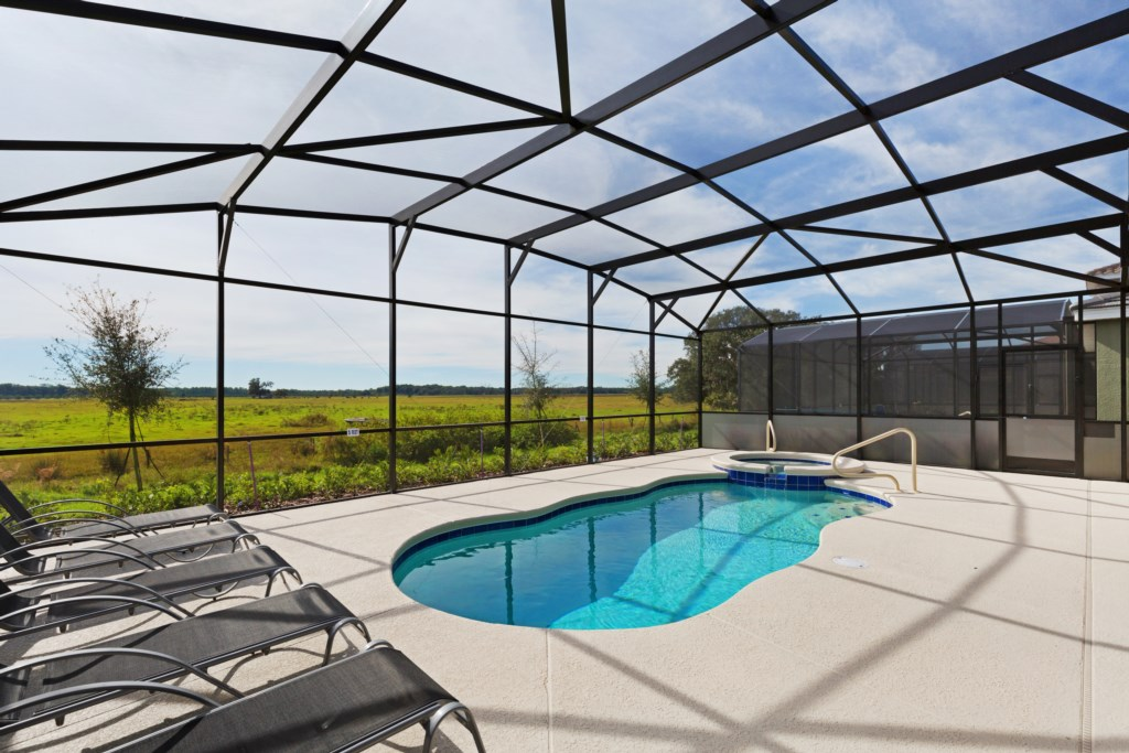 37 Pool with Conservation View