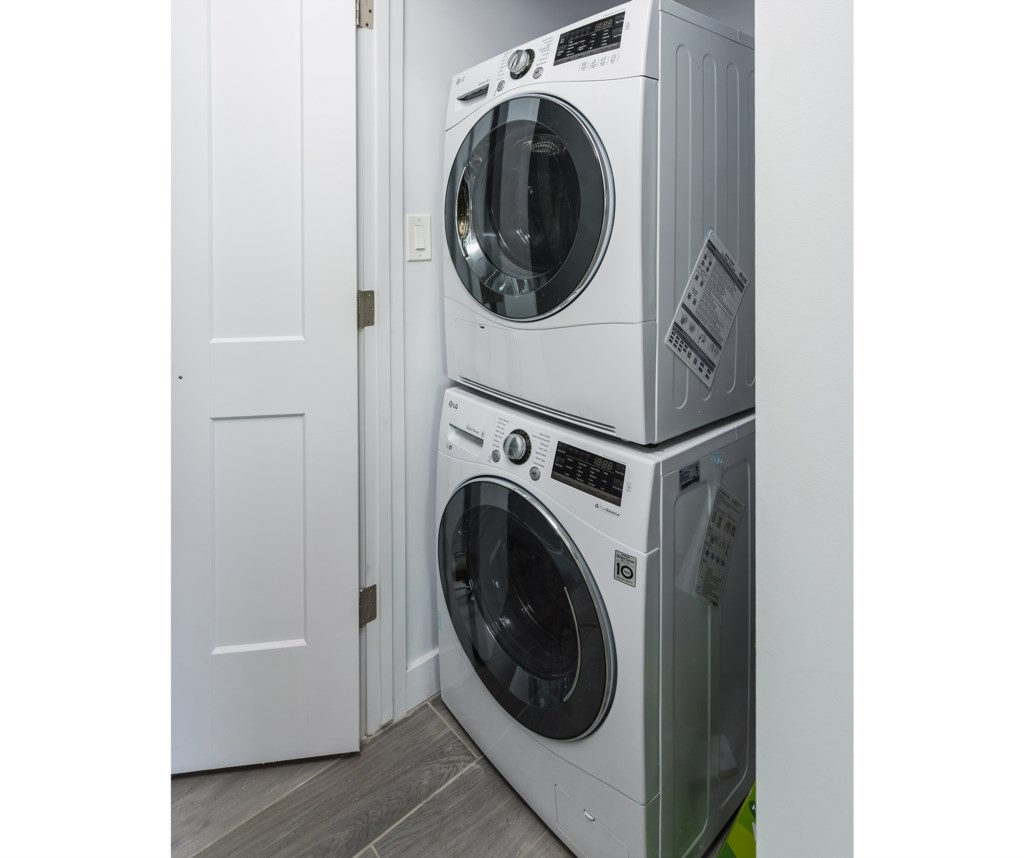 Brand New Washer and Dryer in home for convenience