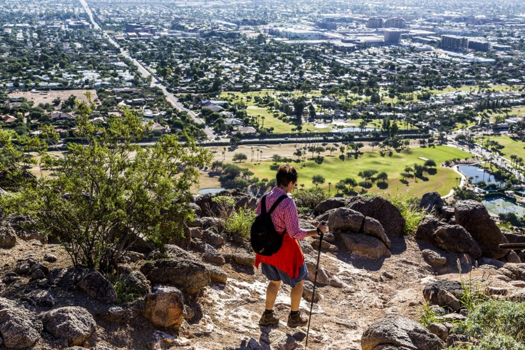 World-class Camelback Mountain hiking - 5 minutes away