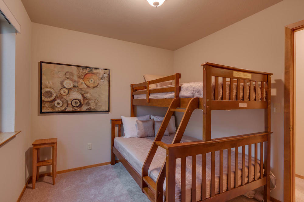 Perfect Bedroom for the Kids with Twin over Full Bunk Beds