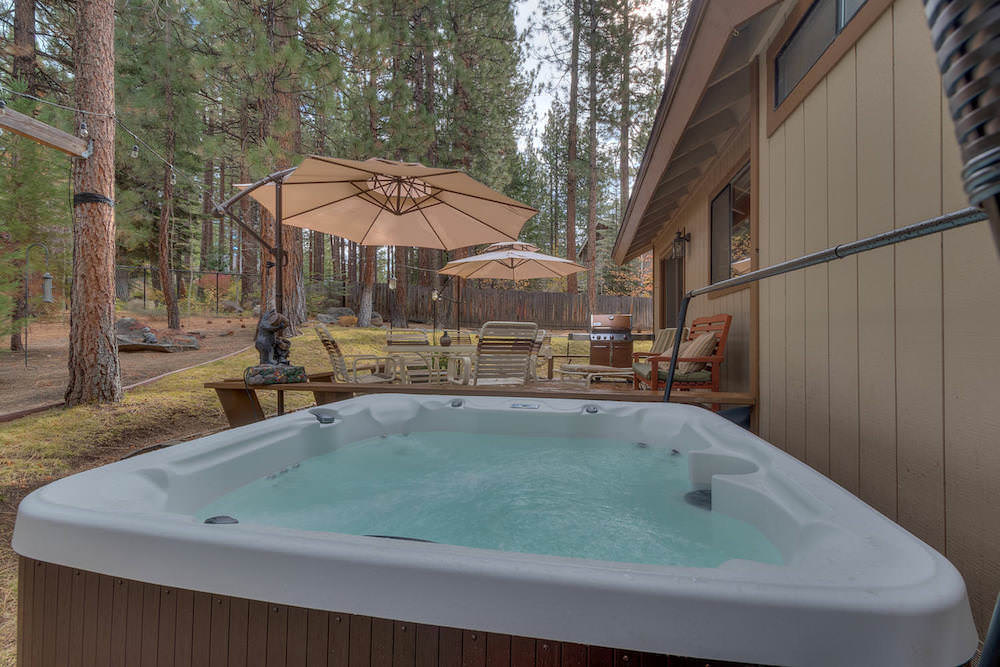 Relax in the seclusion of your South Lake Tahoe Home