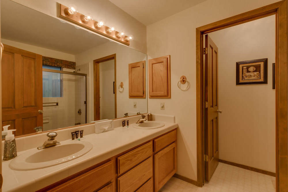 Connected Master Bathroom