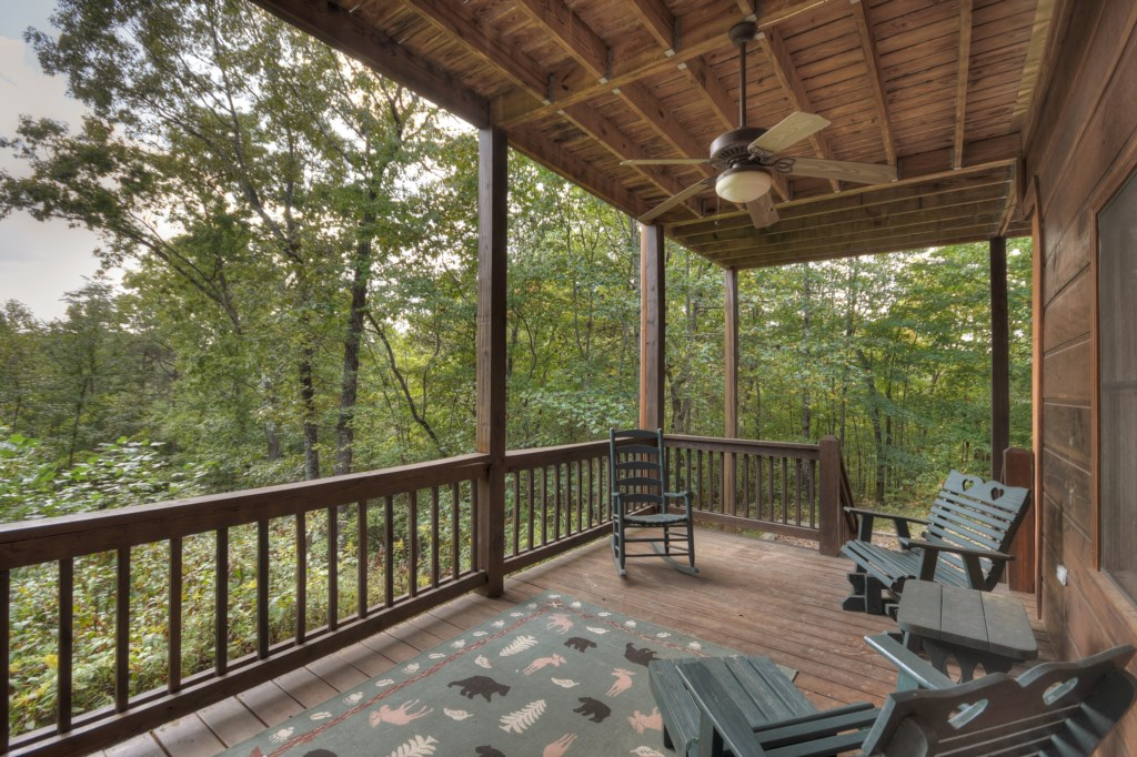 Perched on a Mountainside in prime Blue Ridge makes this the perfect vacationer's dream getaway