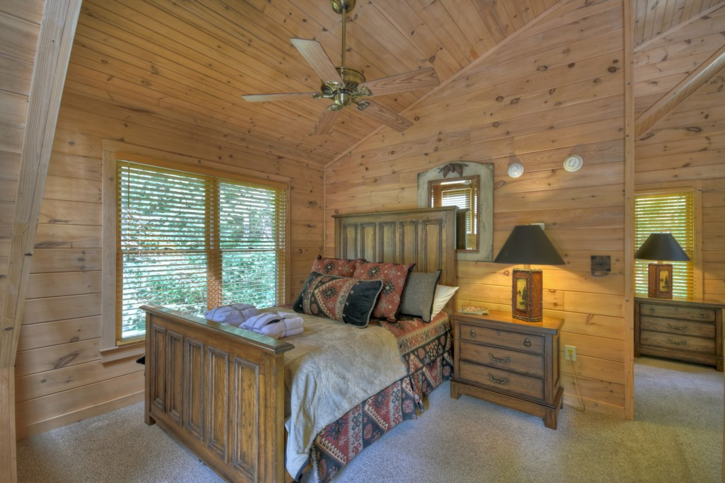 Wake up to a specular view from your bedroom
