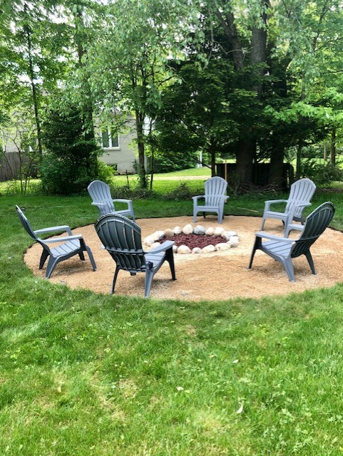 New Outdoor firepit!