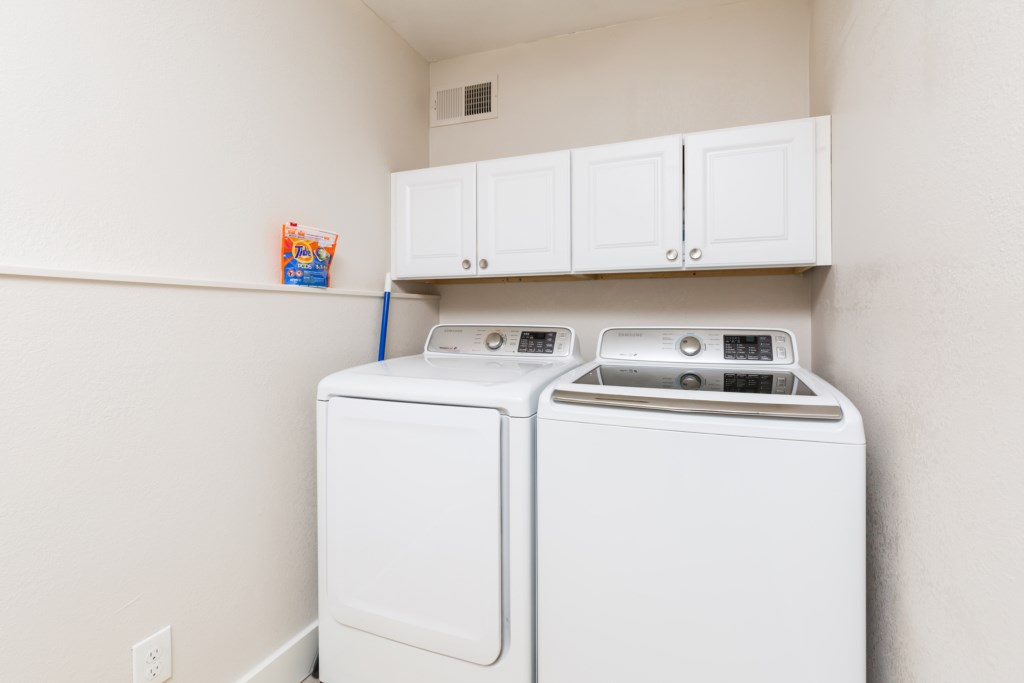 In home washer and dryer