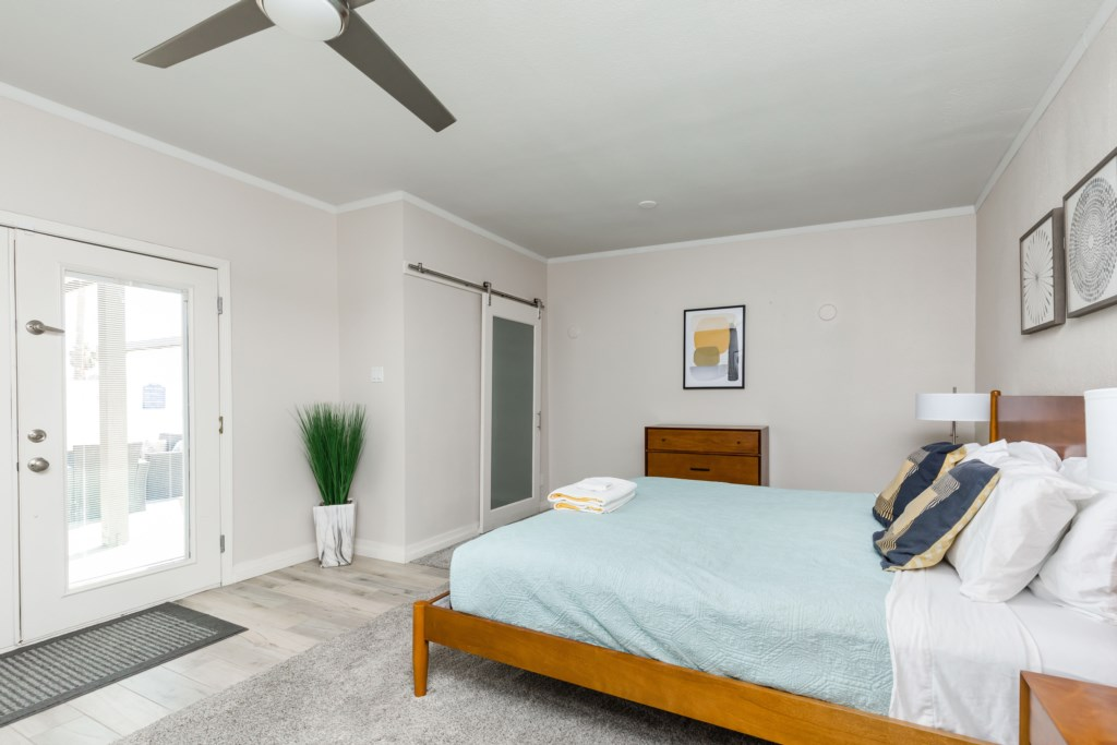 3rd bedroom with double bed