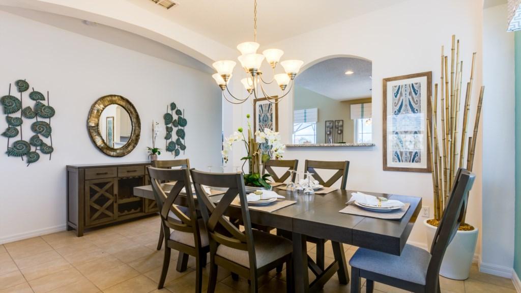 11. Formal Dining Room in Family Villa near Disney.JPG