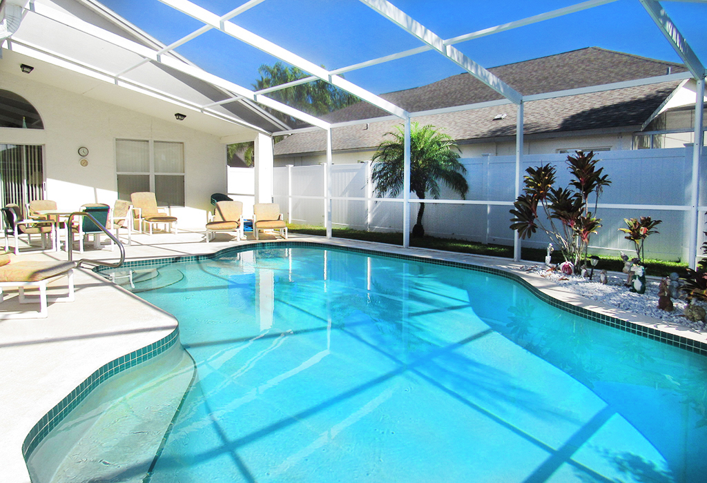 Large private pool area for endless family fun!