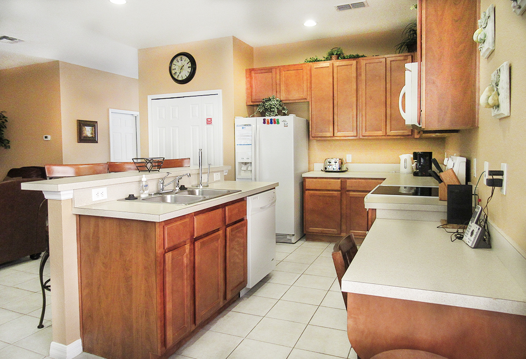 Spacious kitchen with all the amenities you'll require.