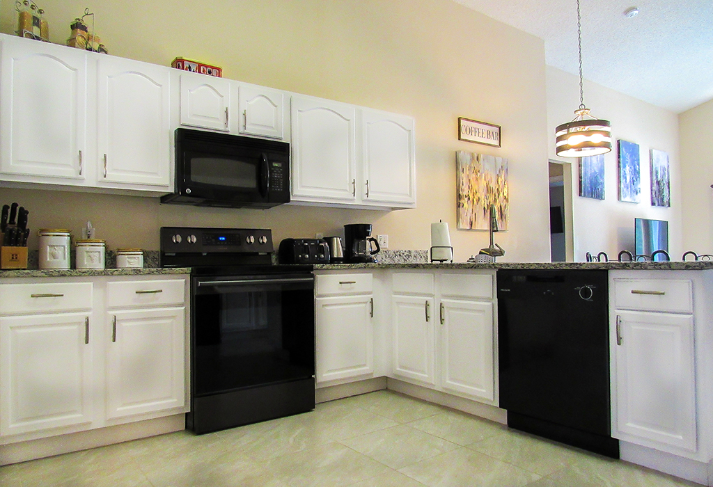 Kitchen is very well equipped to provide for your self-catering stay.
