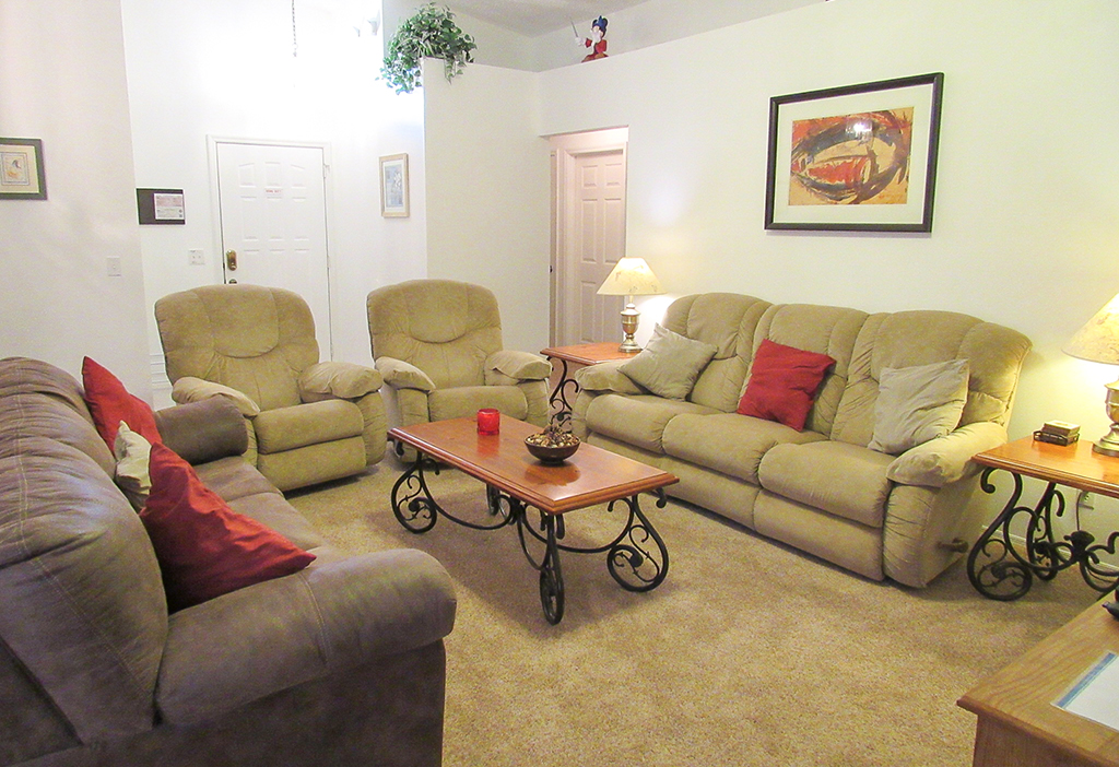Family room for you to relax and unwind.