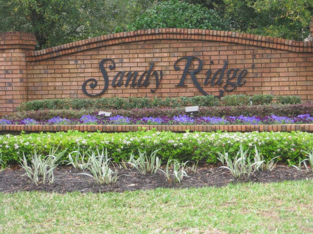Sandy Ridge Entrance