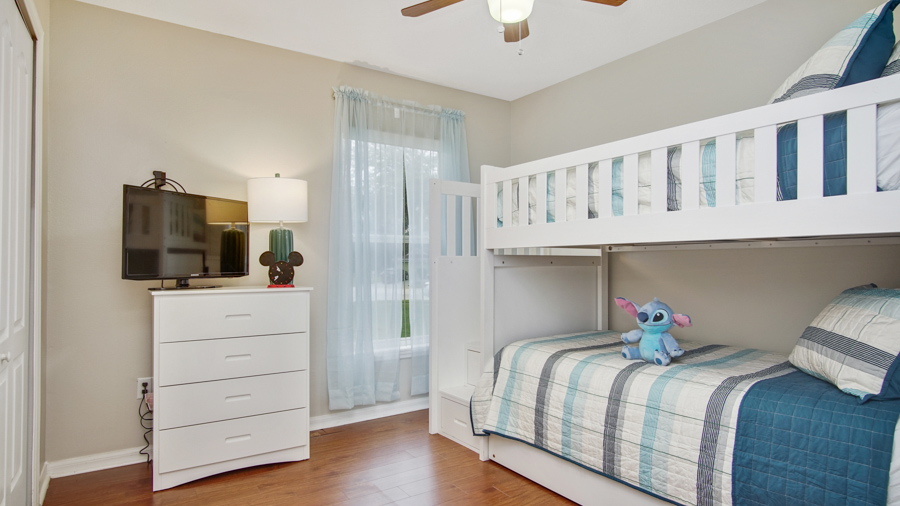 Bedroom 3 - Bunkbeds Two Twin beds with a pull out trundle bed at the bottom (sleeps 3)