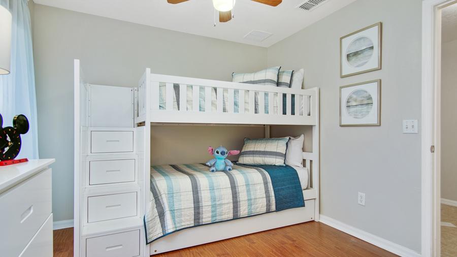 Bedroom 3 - Bunk beds (sleeps 3), 32