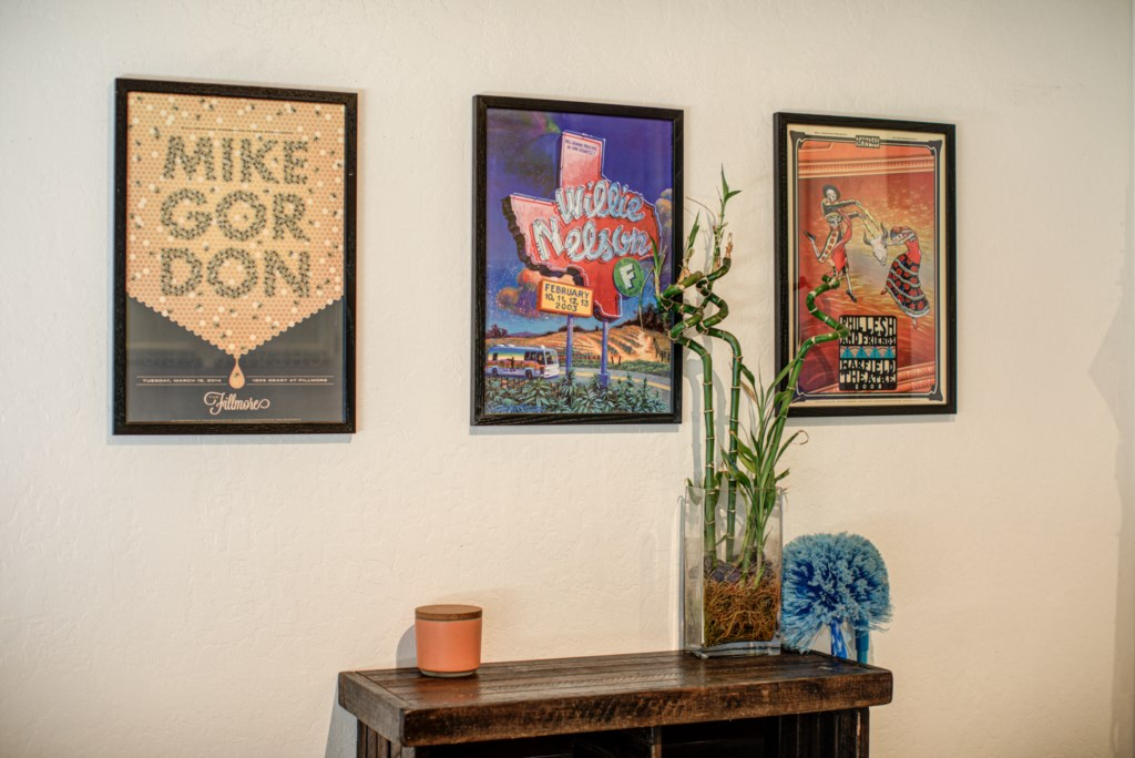 Decorated with Stylish Art throughout the Home