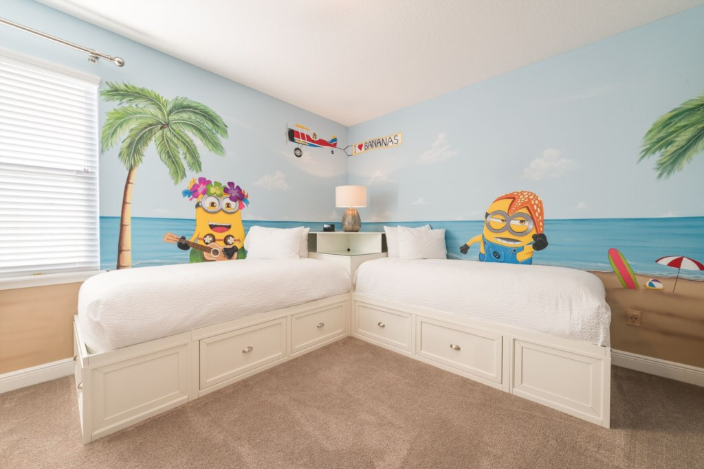 MinionsThemedChildrensBedroom