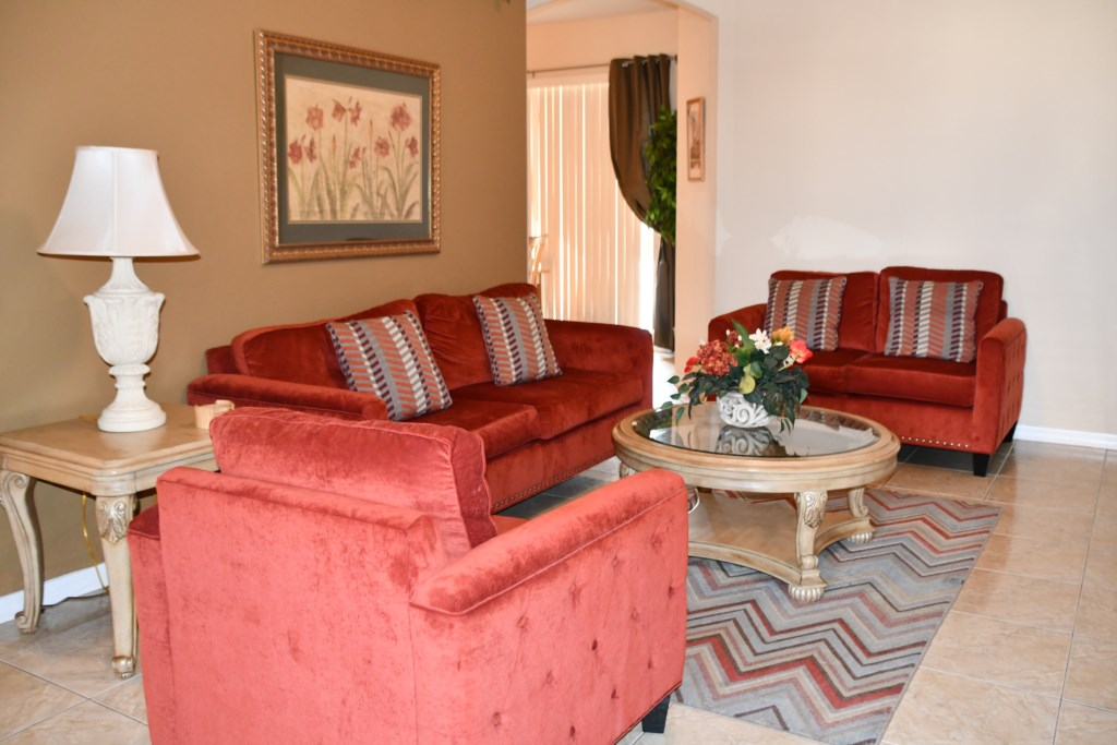 Cozy Siting Room for all your entertaining needs