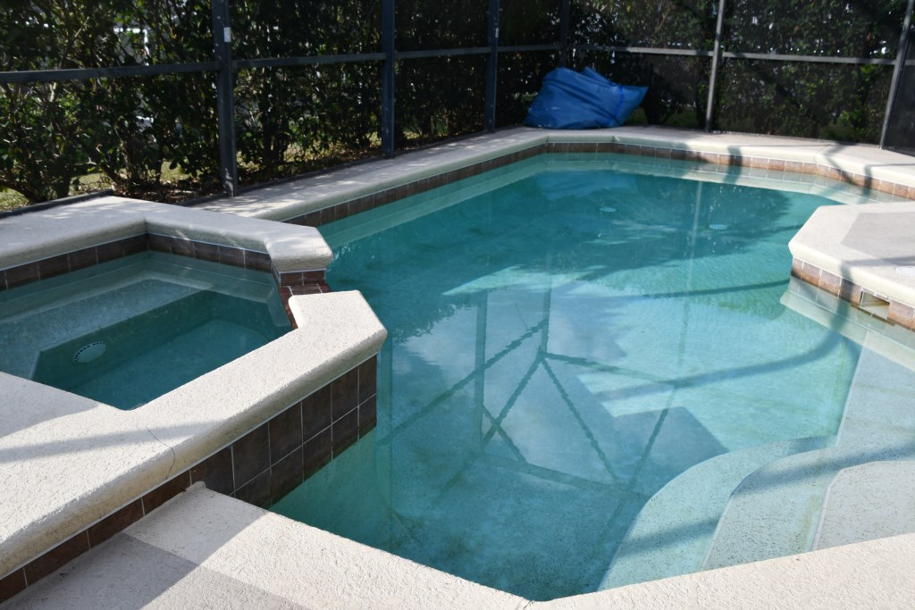 Enjoy your Private Pool and Spa oasis