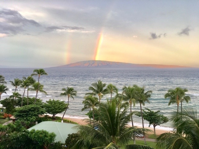 Maui produces a variety of rainbows from the rain fall and the topography of the local peaks