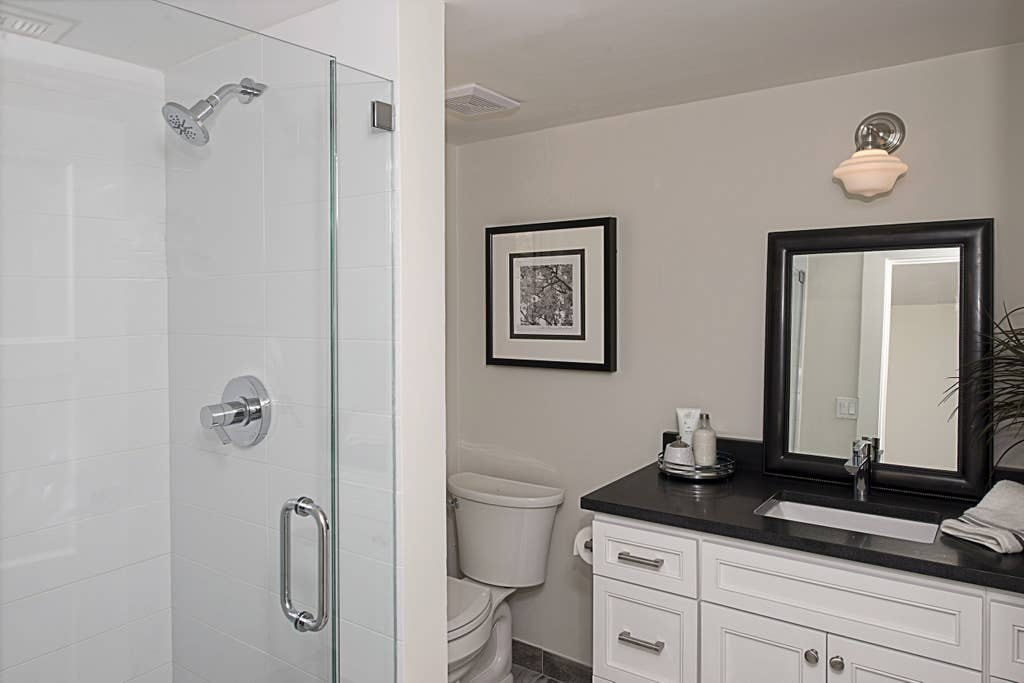 Third Bathroom with walk in shower