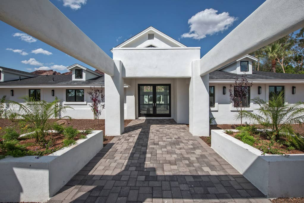 Stunning Private Front Entry