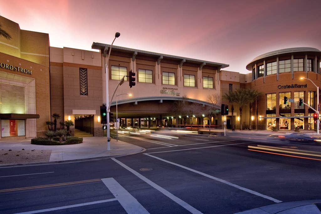 3 minutes from Scottsdale Fashion Square Mall