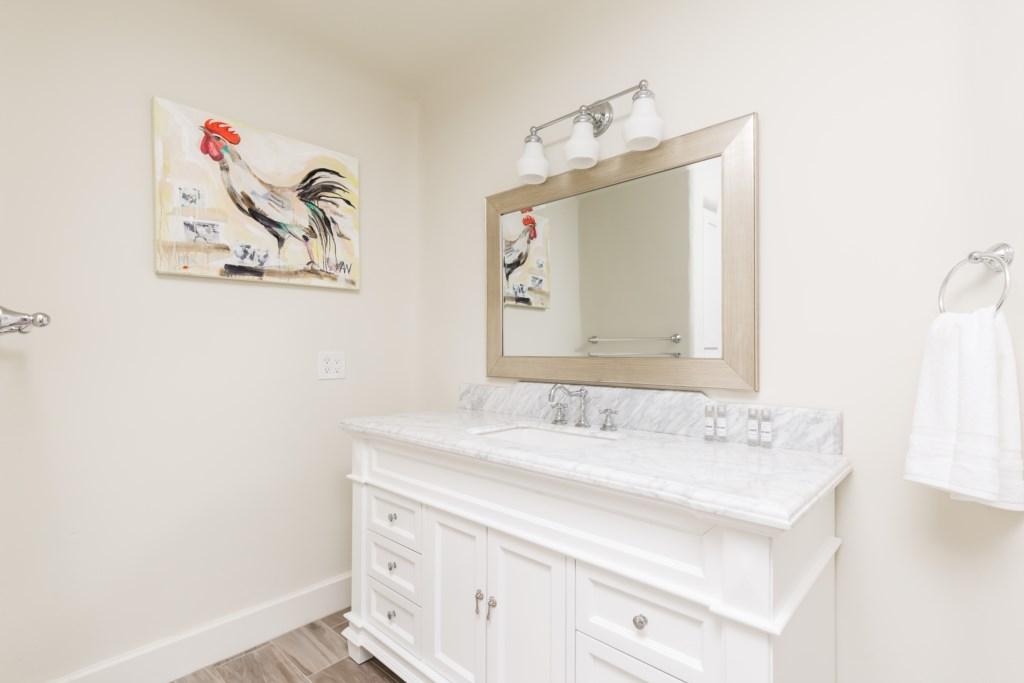 Guest house full bathroom