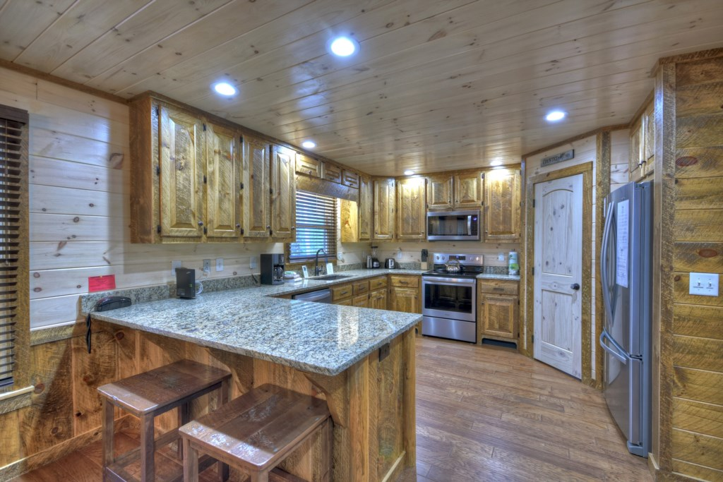 Beautiful Gourmet kitchen with everything you could need to create that perfect meal