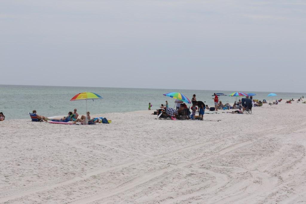 Enjoy a sunny day at the beach
