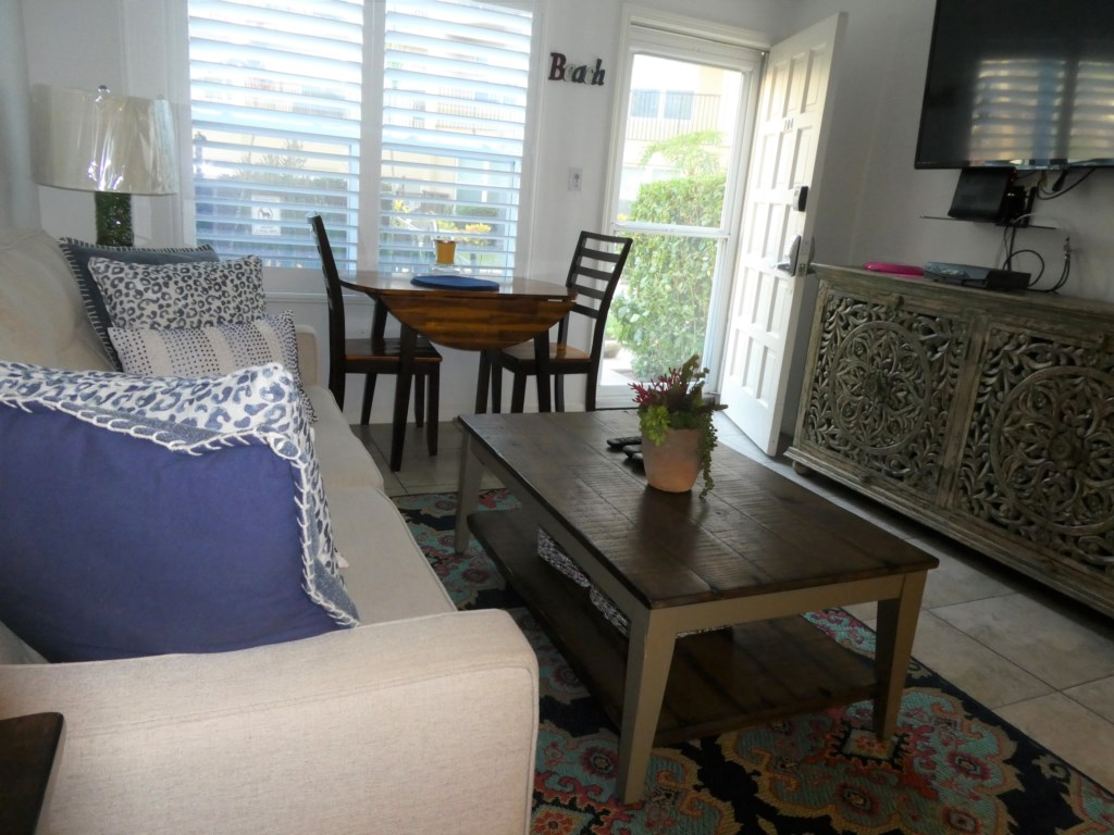 Living Space with Couples Dining