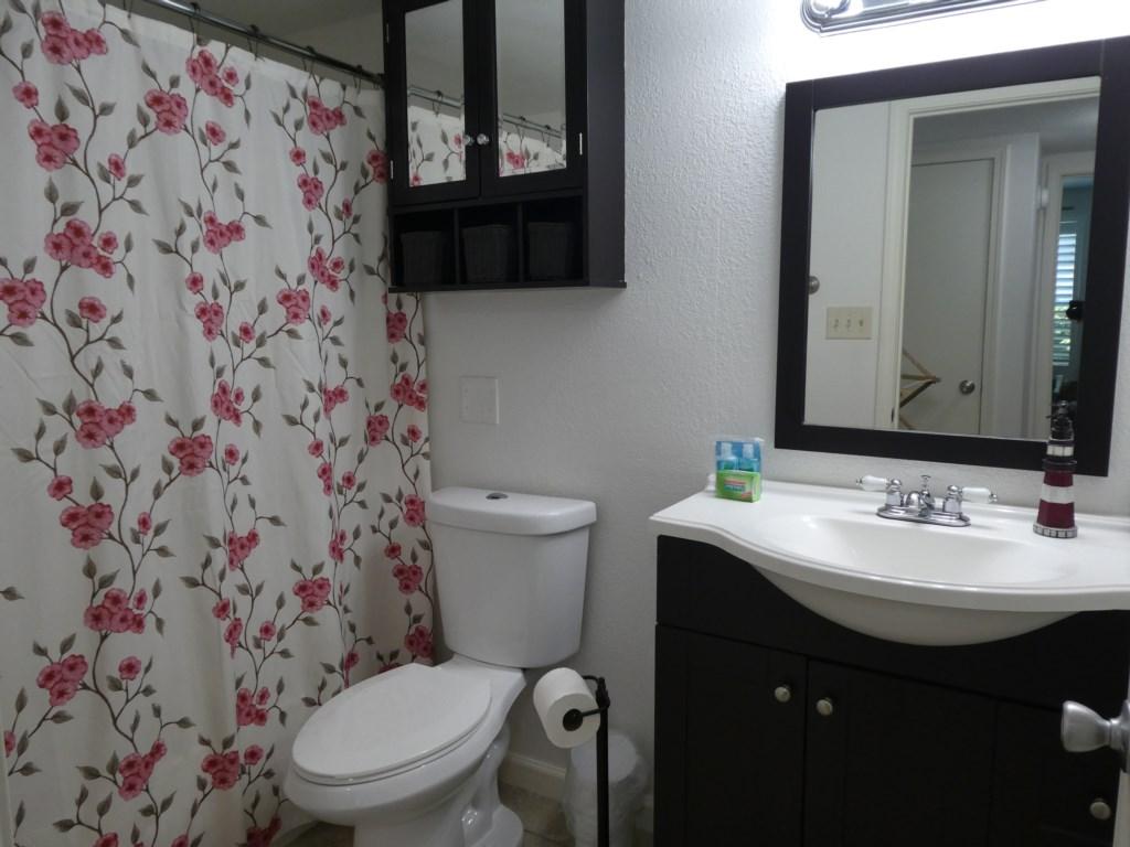 Bathroom Vanity with Amenities