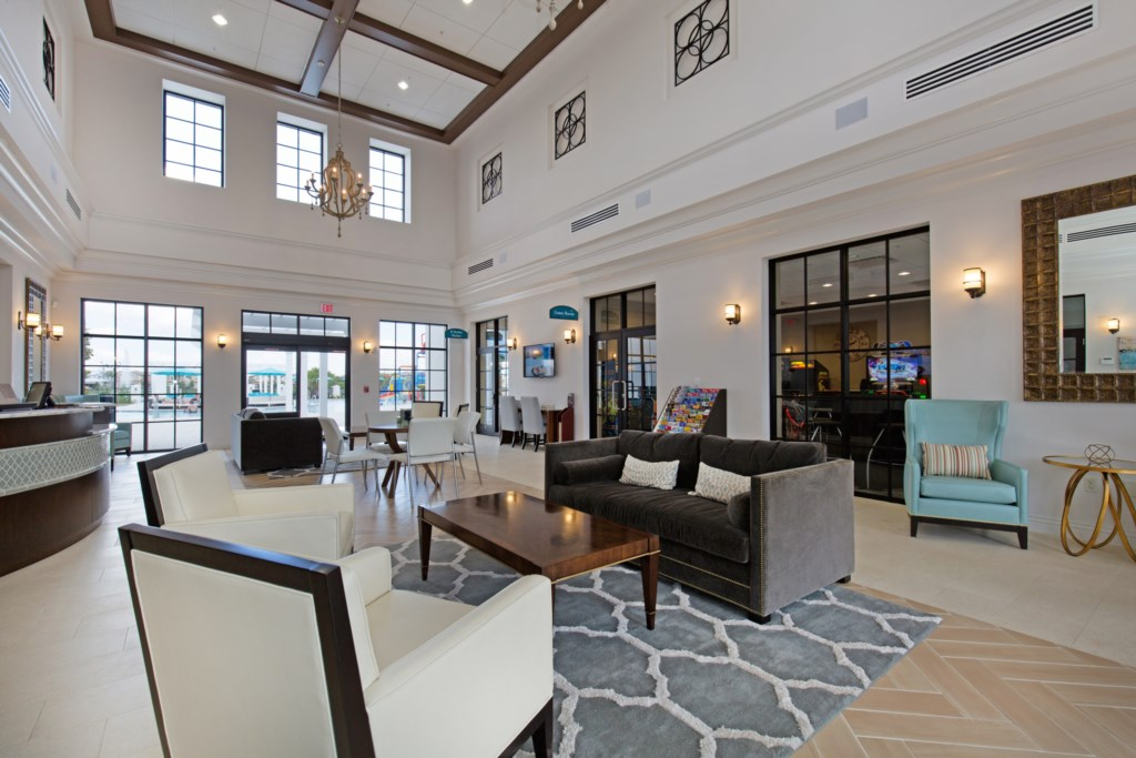 View 3 of Windsor at Westside clubhouse lobby