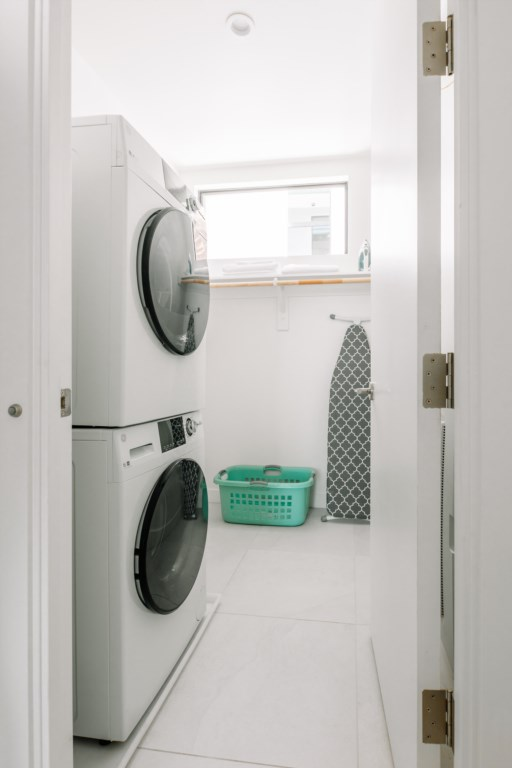 Washer and Dryer on-site